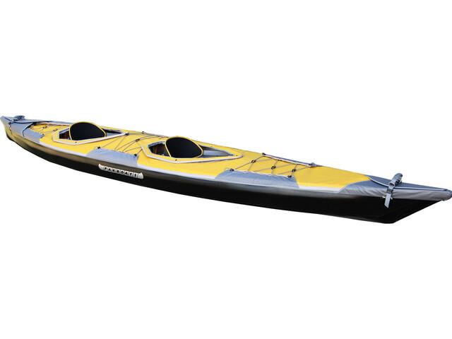 Pakboats Puffin Saranac Solo-Verdeck gelb